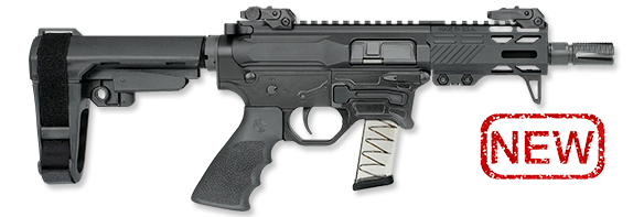 4.5 Inch Pistol with SBA3 Brace