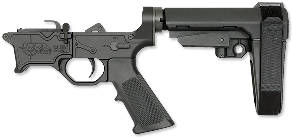 BT-9G Lower Half with SBA3 Arm Brace