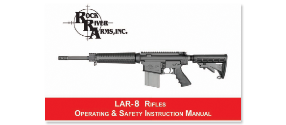 RRA LAR-8 Operating and Safety Manual