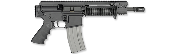 5.56mm Pistol, Ribbed