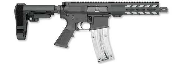 9 Inch Pistol with SBA3 Brace